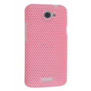 HTC One X / XL / X+ Slim Mesh Case - HTC Hard Case (Baby Pink)