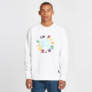 Converse Crew Sweatshirt x Golf Le Fleur White