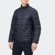 Michael Kors Men's Padded Camo Reversible Jacket - Midnight - M - Blue