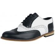 Steelground Shoes Classic Brogue Herren-Schnürschuh EU40, EU41, EU42, EU43, EU44, EU45, EU46, EU47 Herren