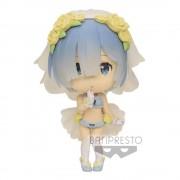 Banpresto Re:Zero Starting Life in Another World ChiBi Kyun Figure Rem 6 cm