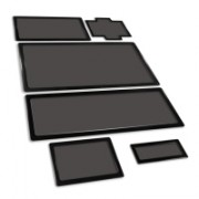 DEMCiflex Kit Antipolvere per Fractal Design R5 - Nero/Nero