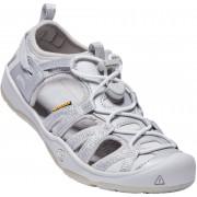 KEEN Moxie Youth Sandal, Silver 32-33