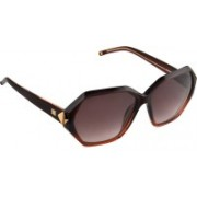 Escada Rectangular Sunglasses(Brown)