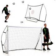 2 u 1 Nogometni gol i odbijajuća mreža u jednom 244 x 152 cm