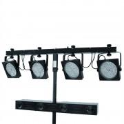 Eurolite Mobile TwinTop M-200 DMX, Комплект за осветление, 2 ефекта (42109504)