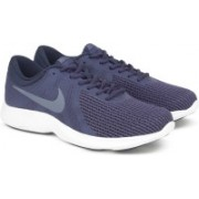 Nike NIKE REVOLUTION 4 Running Shoes For Men(Blue)