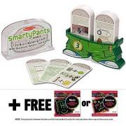3rd Grade Smarty Pants Card Game Set + FREE Melissa & Doug Scratch Art Mini-Pad Bundle [50746]