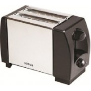 Surya TOAST-O 750 W Pop Up Toaster(Silver, Black)