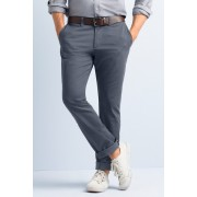 Mens Southcape Lived in Slim Chino - Charcoal Trousers