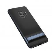 Samsung ROCK Royce serie PC + TPU Case voor Galaxy S9 (blauw)