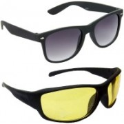 Hrinkar Wayfarer Sunglasses(Grey)