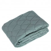 Roommate - Quilted Blanket - Sea Grey