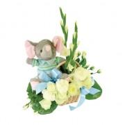 Kwiaty dla chłopczyka