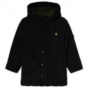 Lyle & Scott Microfleece Parkas Svart 12-13 years