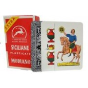 Deck of Siciliane N96 Italian Regional Playing Cards