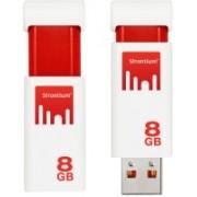 Strontium TNT 8 GB Pen Drive(White)