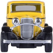 KINSMART 1932 Ford 3 - Window Coup- Yellow