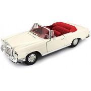 Maisto 1:18 Mercedes-Benz 1967 280Se Cabrio Diecast Vehicle Toy Car - Multi Color