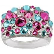 Troli Inelul Bubble Pink / Turquoise 50 mm