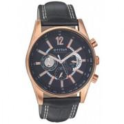 Titan Round Chronograph Watch For Men-9322WL02