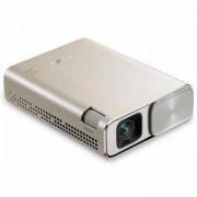 Джобен LED видеопроектор ASUS ZenBeam E1 Gold, 150lm, HDMI, USB, WVGA, 6 000mAh батерия, ASUS-PROJ-ZEN-BEAM-E1-GOLD