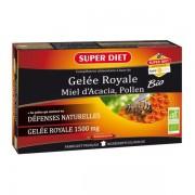 Super Diet Królewskie Mleczko Pszczele Bio Wzmocnienie odporności 20 x 15 ml