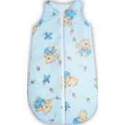Sac de dormit bebe ursuletul cu miere albastru