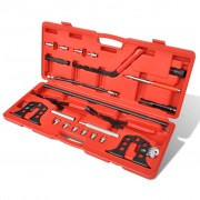 vidaXL Комплект инструмент за монтаж & демонтаж на пружинен клапан