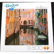Big Ben 500 Piece Puzzle - Italian Canal by Hasbro