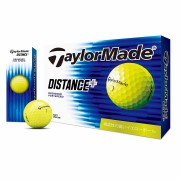 【TaylorMade Golf/テーラーメイドゴルフ】ディスタンス+ イエロー ボール /