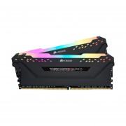 Memorias Ram DDR4 Corsair Vengeance RGB PRO 2933MHz 16GB PC4-23400 Kit 2x8 CMW16GX4M2Z2933C16