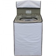 Glassiano White Colored Washing Machine Cover For IFB (TL- SDG 7.0 Kg Aqua) Fully Automatic Top Load 7 Kg