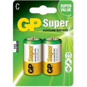 Baterii alcaline R14 2buc/blister GP