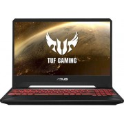 "Laptop Gaming Asus TUF FX505DT-BQ121 (Procesor AMD Ryzen 7 3750H (4M Cache, up to 4.00 GHz), 15.6"" FHD, 16GB, 512GB SSD, nVidia GeForce GTX 1650 @4GB, Negru)"