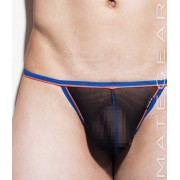 Mategear Ra Chi Mesh Series Extremely Sexy Mini G String Underwear Black 1591202