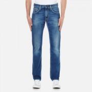 Tommy Hilfiger Men's Denton Straight Leg Denim Jean - Light Blue - W32/L30 - Blue