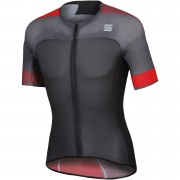 Sportful BodyFit Pro 2.0 Light Jersey - L - Orange SDR/Fire Red