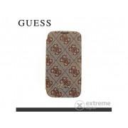 Husă telefon plastic Cg Mobile Guess 4G Samsung GT-I9500/9505 Galaxy S IV., maro (GUBBS44GB)