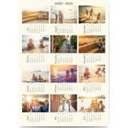 Optimalprint Fotoaffischer kalender, 1 st, kalender, affisch, klassiskt, Optimalprint