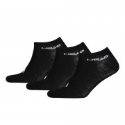 Head Pack de 3 calcetines Head Sneaker - Hombre - Negro - UK 9-11 - Negro