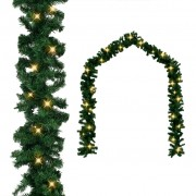 vidaXL Коледни гирлянди с LED осветление, 5 м