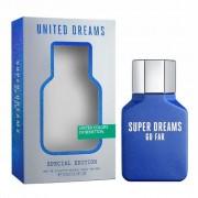 Benetton united dreams men go far super dreams special edition 100 ml eau de toilette edt profumo uomo