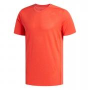 adidas Men's Supernova Running T-Shirt - Red - S - Red