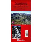Harta turistica - TRANSFAGARASANUL