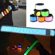 Night Luminous LED Lap Circle Reflective Wrist Band Arm Party Supplies Luminous Party Pops