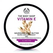 The Body Shop Mantequilla corporal, VITAMIN E, 6.75 Ounce (Pack of 1)