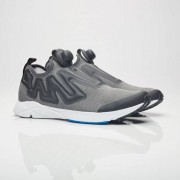 Reebok Pump Plus Supreme Hoodie Coal/White/China Red/Awesome Blue