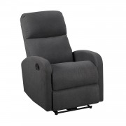 Happy Garden Fauteuil inclinable MAX gris anthracite