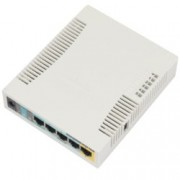 Access point/Аксес пойнт, MikroTik RB951Ui-2HnD, 2.4GHz, Wireless N, 1000mW, USB, 5x 10/100 Ethernet Port